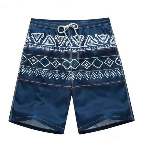 Men's Tribal-Print Lightweight Quick-Dry Loose Beach Summer Shorts L-5XL-Loluxe
