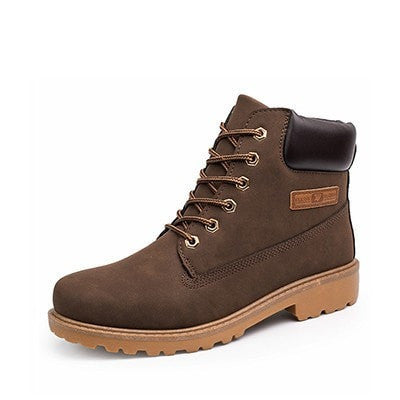 Men's Winter Leather Casual Warm Comfortable Boots 3 Colors-Loluxe