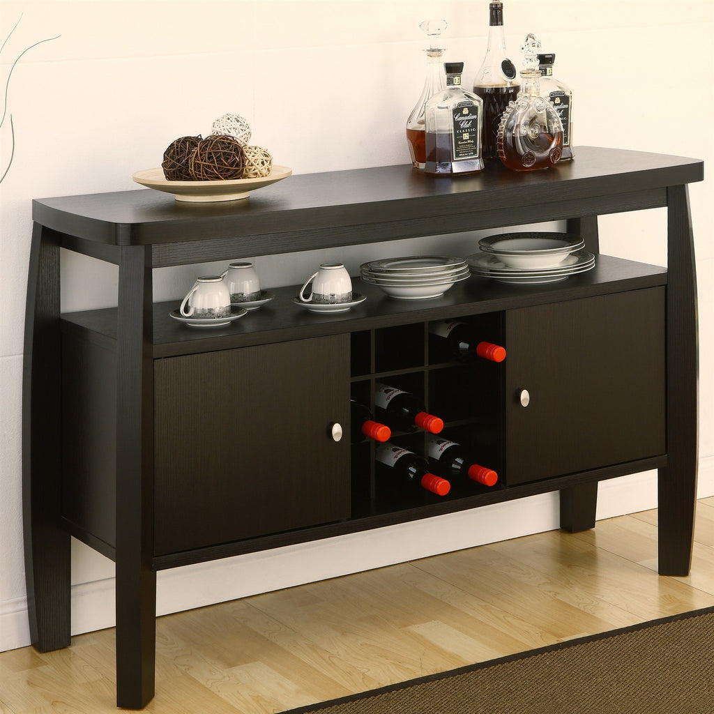 Modern Dining Room Sideboard Buffet Server Console Table Sideboards Buffets Loluxe