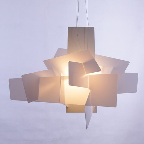 Modern Foscarini Big Bang Pendant Lights White Acrylic Lamps Dining Room Creative,Lighting-Loluxe