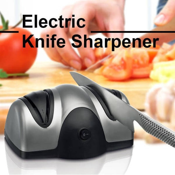 Multifunction Electric Automatic Knife Sharpener 2 Stage Kitchen Fruit Knife Scissors Sharp-Scissors-Loluxe