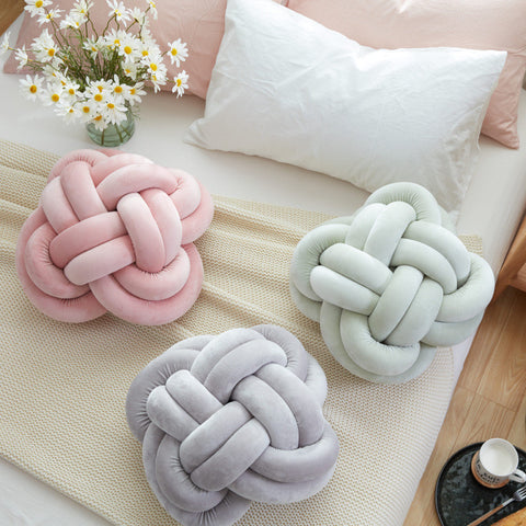 NEW Fun Large Knotted-Style Body Cushions 4 Colors