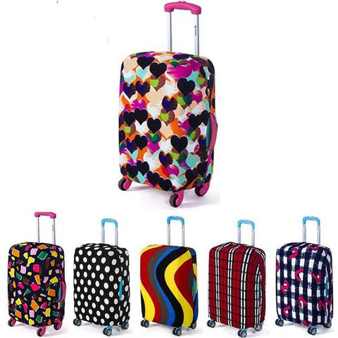 Universal Fashion Luggage Protective Covers 6 Designs 3 Sizes