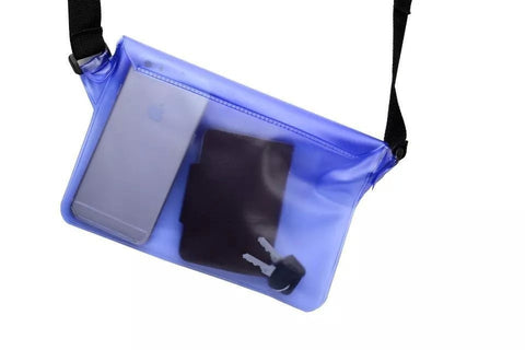 NEW Luminous Fluorescent Universal PVC Waterproof Mobile Strap Waist Cellphone Case - 3 Colors-Loluxe