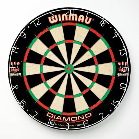 Official Tournament Bristle Sisal Fiber Staple-Free Dartboard-Game Room > Dart Boards-Loluxe