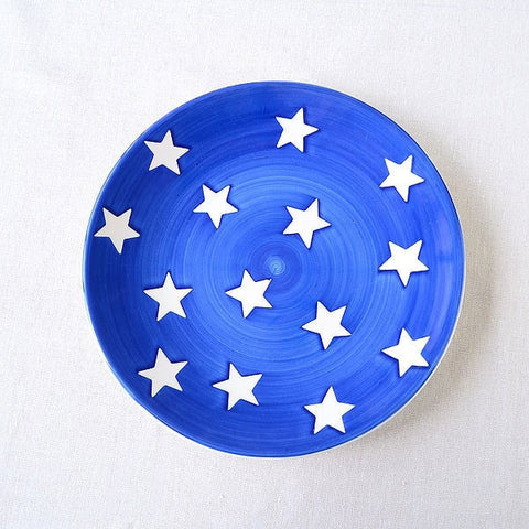 "Omi 8.5"" Starry Sky Butter/ Decorative Plate, Set of 4-Loluxe"