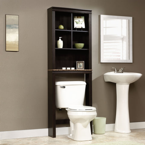 Over Toilet Bathroom Storage Cabinet Shelves Cubby Etagere-Bathroom > Bathroom Cabinets-Loluxe