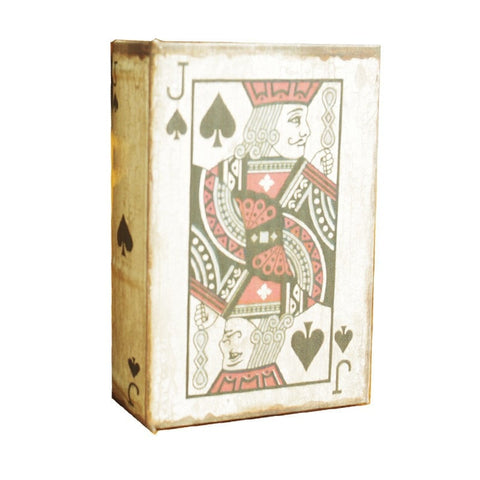 Popular Fashion Jack Of Spades Book Storage Box-Loluxe