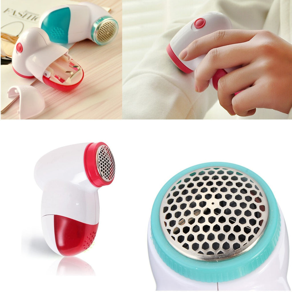 Portable Electric Clothes Lint Pill Fluff Remover Fabrics Sweater Fuzz Shaver-Shaver-Loluxe