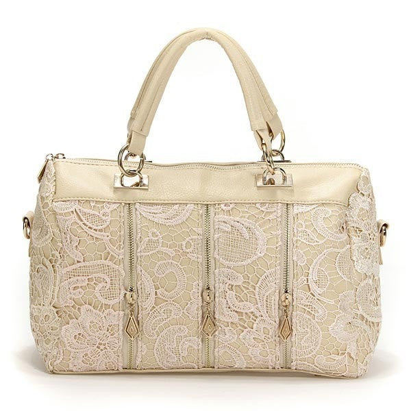 Princess Lace Summer Womens Satchel Bags Handbags-Handbags-Loluxe