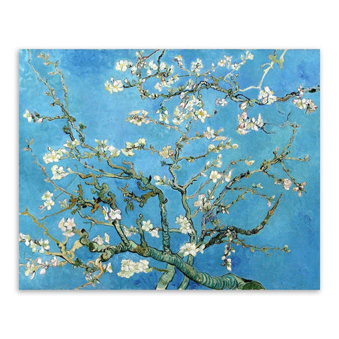 Elegant Cherry Blossom Poster Canvas Wall Art 3 Sizes