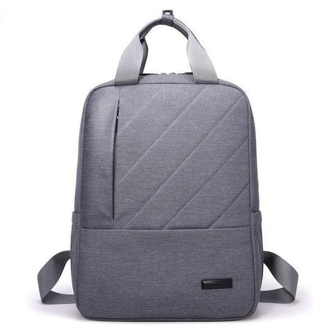 Men's Quality Multifunctional Waterproof Computer Nylon Backpack 3 Colors