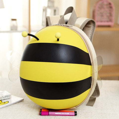 Cute Kids Bumble Bee Softback Backpack 5 Colors