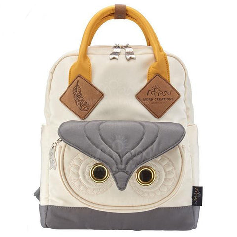 Cool 3D Owl Quality Nylon Colorful Backpack 5 Colors