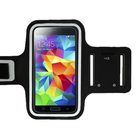 Quality Universal Sports Running Arm Band Cellphone Case w/Window View 9 Colors-Loluxe