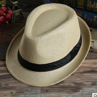 Quality Women's Fashion Ribbon Band Fedora Trilby Panama Hat 4 Colors-Loluxe