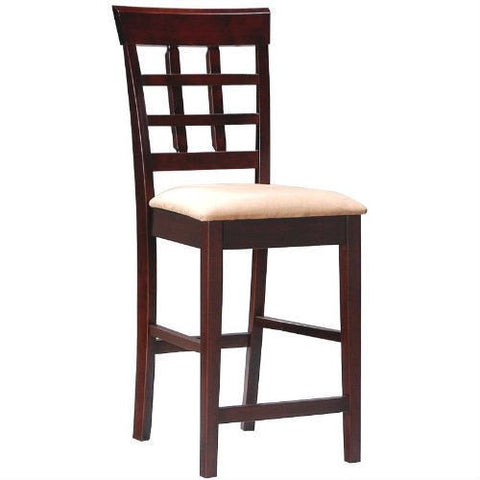 Set of 2 - Counter Height Kitchen Dining Bar Stool Chairs-Dining > Barstools-Loluxe