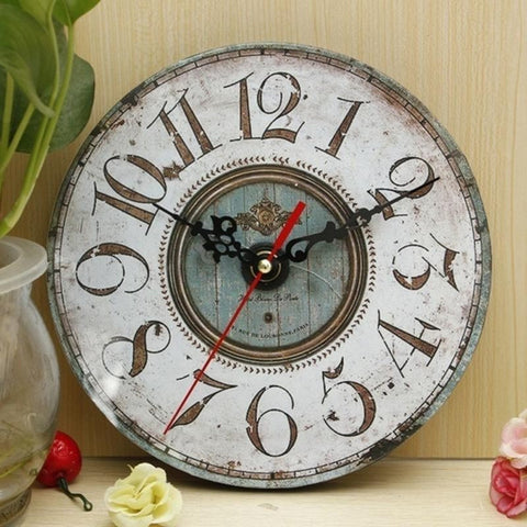 Shabby Chic Wall Clock-Loluxe