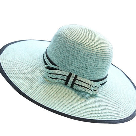 Simple Elegant Wide Large Brim Floppy Sun Hat 3 Colors-Loluxe