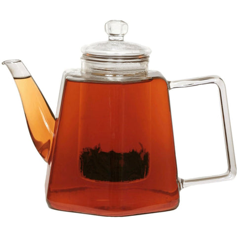 Stove Top Glass Water Boiler Kettle Teapot with Tea Infuser-Kitchen > Teapots-Loluxe