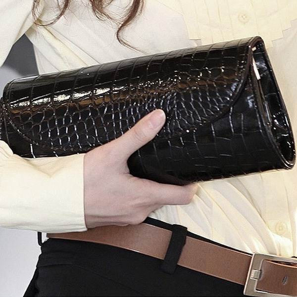 Stylish Women's New Grain Chain Mini Clutch-coin purse wallet clutch-Loluxe