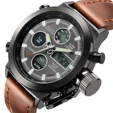 Top Brand Luxury Men Digital LED Quartz Outdoor Sports Watches-Loluxe