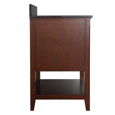 Traditional Style Solid Wood Bathroom Vanity in Chestnut Finish-Bathroom > Bathroom Vanities-Loluxe