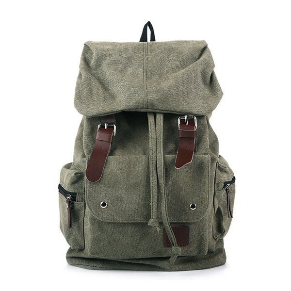 Unisex Leisure Canvas Backpack-backpack bookbag-Loluxe
