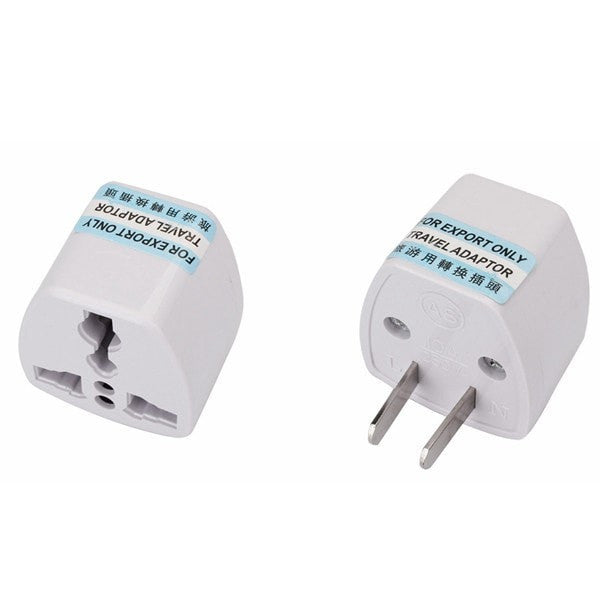 US CHN to Universal plug adapter 2 pins flat pin-Plug-Loluxe