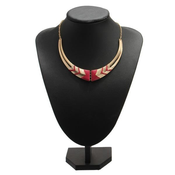 Vintage Foldable Statement Nations Style Choker Collar Necklace-Loluxe