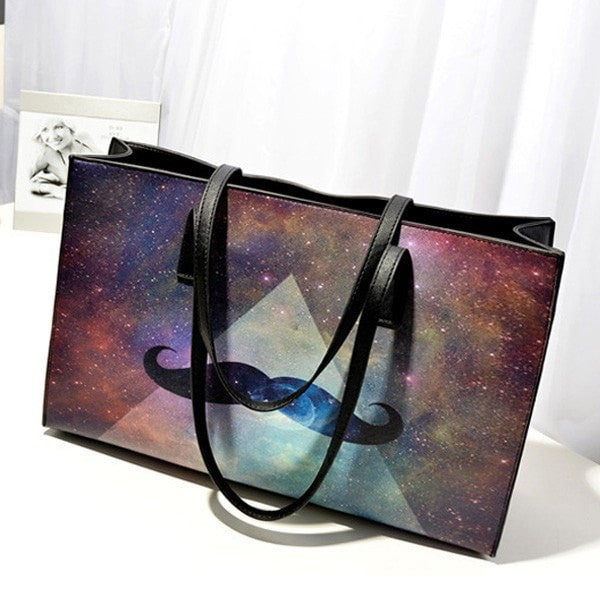 Women Handbag Harajuku Style Printing Casual Shoulder Bag-Handbags-Loluxe