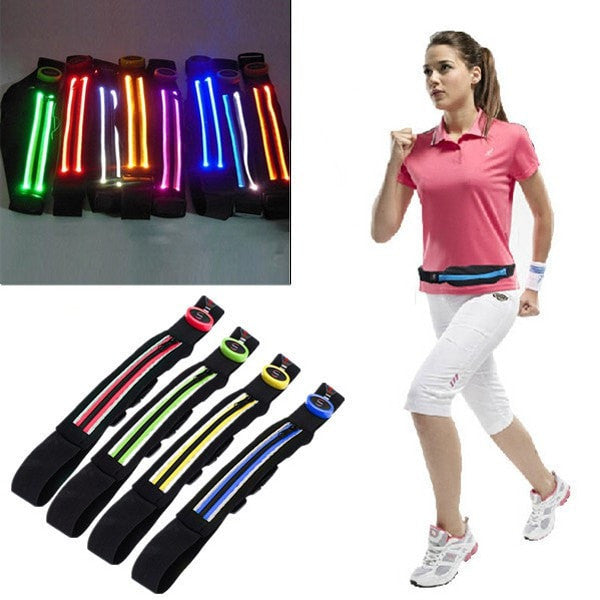 Women Men Waist Packs Belt Portable LED Large Capacity Sport Waist Bag-Handbags-Loluxe
