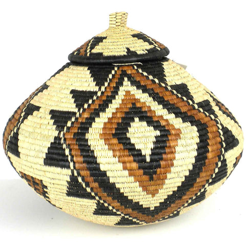 Zulu Wedding Basket - 015 - Ilala Weavers-Baskets-Loluxe