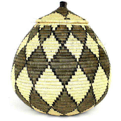 Zulu Wedding Basket - 021 - Ilala Weavers-Baskets-Loluxe