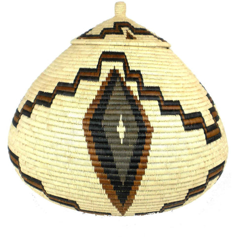 Zulu Wedding Basket - 027 - Ilala Weavers-Baskets-Loluxe