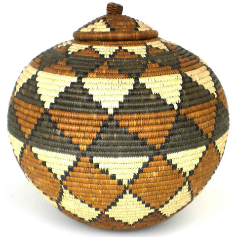Zulu Wedding Basket - 035 - Ilala Weavers-Baskets-Loluxe