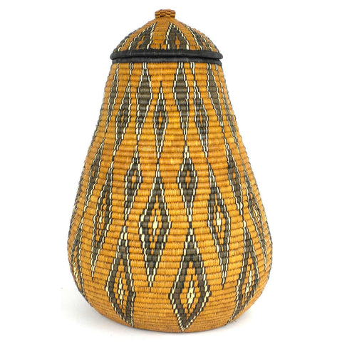 Zulu Wedding Basket - 038 - Ilala Weavers-Baskets-Loluxe