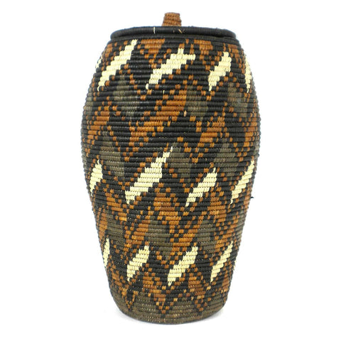 Zulu Wedding Basket - 048 - Ilala Weavers-Baskets-Loluxe