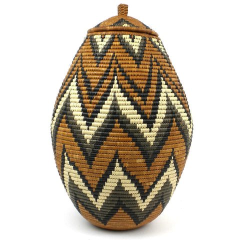 Zulu Wedding Basket - 079 - Ilala Weavers-Baskets-Loluxe