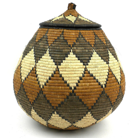 Zulu Wedding Basket - 081 - Ilala Weavers-Baskets-Loluxe