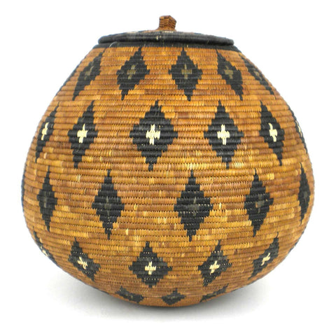 Zulu Wedding Basket - 66 - Ilala Weavers-Baskets-Loluxe