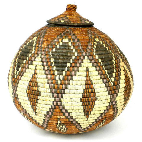 Zulu Wedding Basket - 67 - Ilala Weavers-Baskets-Loluxe