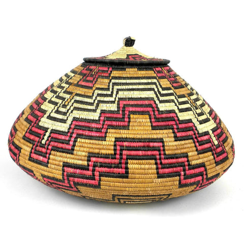 Zulu Wedding Basket -OS-15 - Ilala Weavers-Baskets-Loluxe