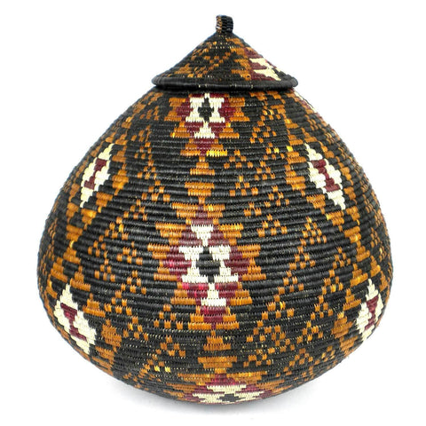 Zulu Wedding Basket - OS02 - Ilala Weavers-Baskets-Loluxe