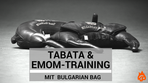 Training with Bulgarian Bag