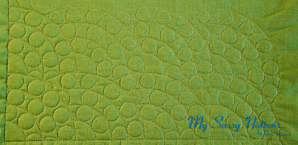 Westalee Jewel Collection Pearls. Quilted by Pam Varner