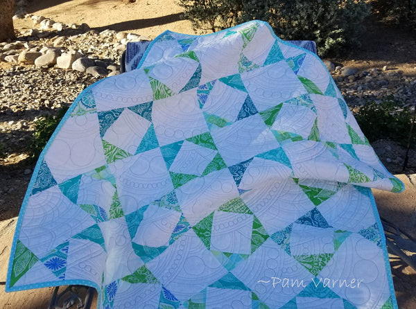 Westalee Circles on Quilts and Artisan Circles by Pam Varner
