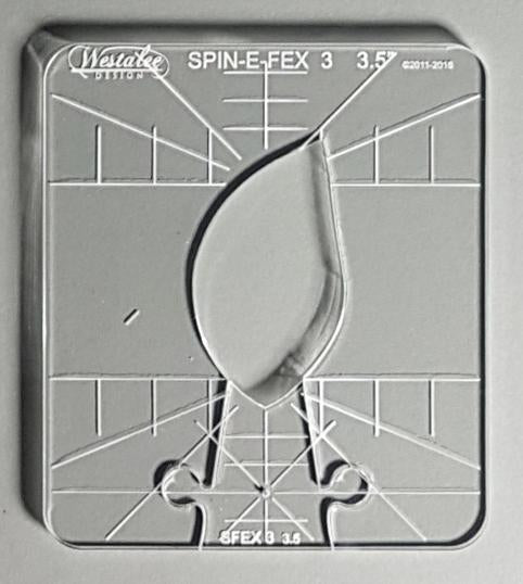 Spin-E-Fex 3 Long Arm Templates