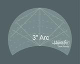"Westalee 3"" Arc Template"
