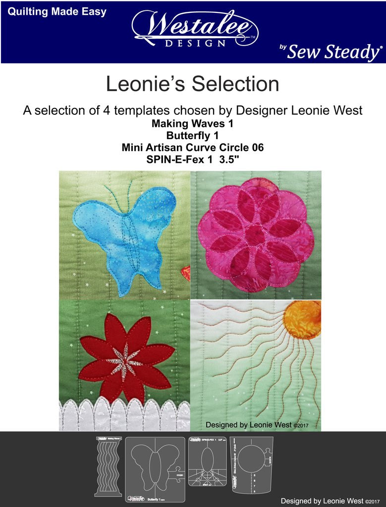 Leonie's Selection 4pc Template Set